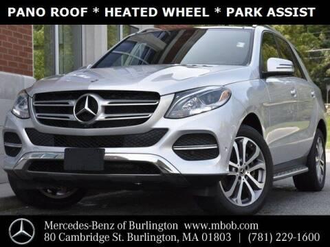 2017 Mercedes-Benz GLE for sale at Mercedes Benz of Burlington in Burlington MA