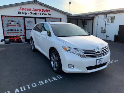 2012 Toyota Venza for sale at Speed Auto Sales in El Cajon CA