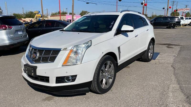 2012 Cadillac SRX for sale at BARRIO MOTORS in El Paso TX