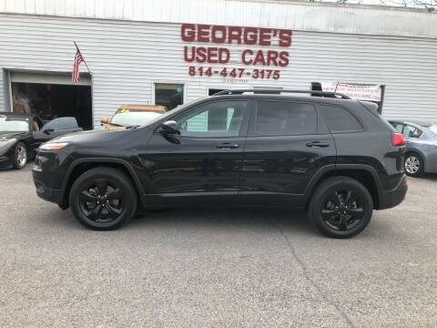2016 Jeep Cherokee for sale at George's Used Cars Inc in Orbisonia PA