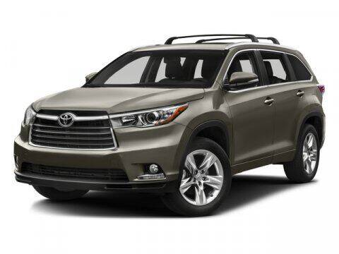 2016 Toyota Highlander for sale at TEJAS TOYOTA in Humble TX