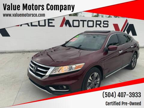 2015 Honda Crosstour for sale at Value Motors Company in Marrero LA