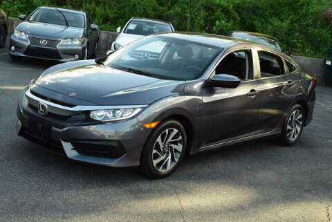 2017 Honda Civic for sale at Automall Collection in Peabody MA