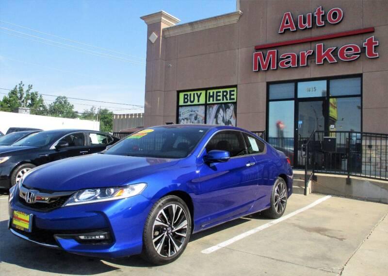 2017 Honda Accord for sale at Auto Market in Oklahoma City OK