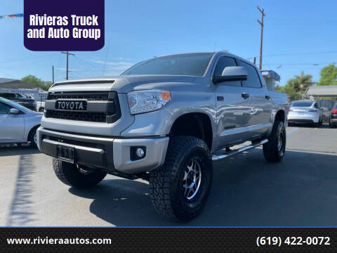 2015 Toyota Tundra for sale at Rivieras Truck and Auto Group in Chula Vista CA