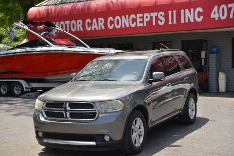 2011 Dodge Durango for sale at Motor Car Concepts II - Apopka Location in Apopka FL