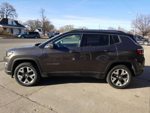 2018 Jeep Compass for sale at Faw Motor Co in Cambridge NE
