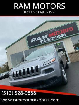 2014 Jeep Cherokee for sale at RAM MOTORS in Cincinnati OH