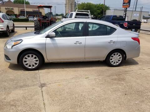 2015 Nissan Versa for sale at C4 AUTO GROUP in Claremore OK