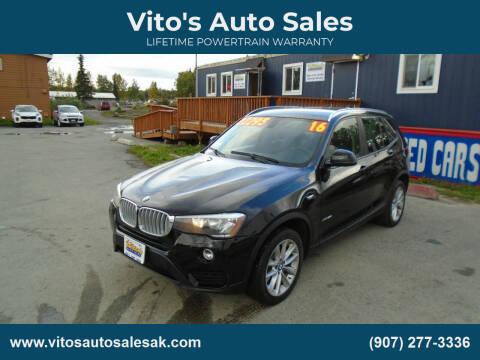 2016 BMW X3 for sale at Vito's Auto Sales in Anchorage AK