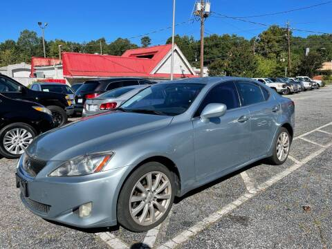 2008 Lexus IS 250 for sale at Car Online in Roswell GA