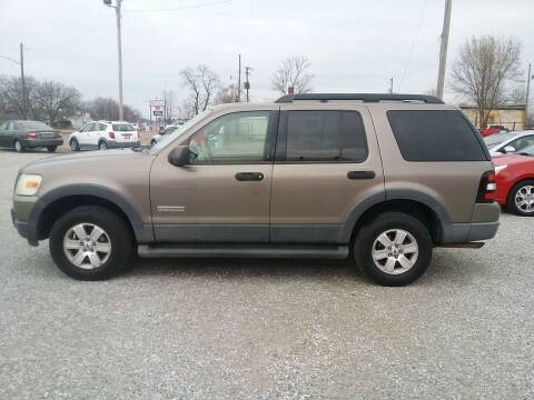 2006 Ford Explorer for sale at MIKE'S CYCLE & AUTO in Connersville IN
