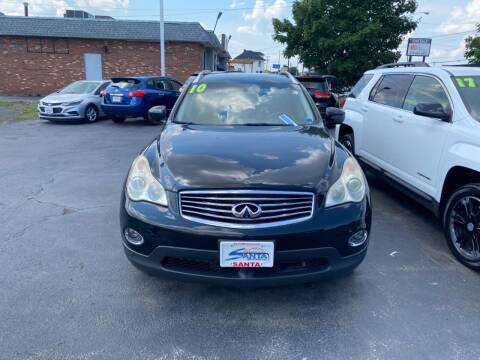 2010 Infiniti EX35 for sale at Santa Motors Inc in Rochester NY