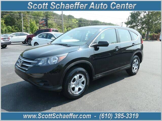 2014 Honda CR-V for sale at Scott Schaeffer Auto Center in Birdsboro PA