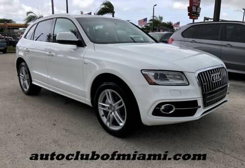 2013 Audi Q5 for sale at AUTO CLUB OF MIAMI in Miami FL