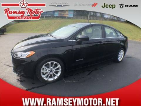 2019 Ford Fusion Hybrid for sale at RAMSEY MOTOR CO in Harrison AR