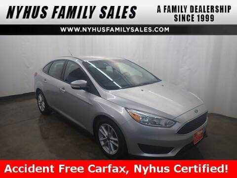 2017 Ford Focus for sale at Nyhus Family Sales in Perham MN
