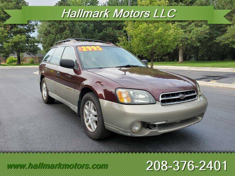 2001 Subaru Outback for sale at HALLMARK MOTORS LLC in Boise ID