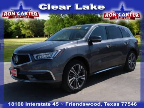 2019 Acura MDX for sale at Ron Carter  Clear Lake Used Cars in Houston TX