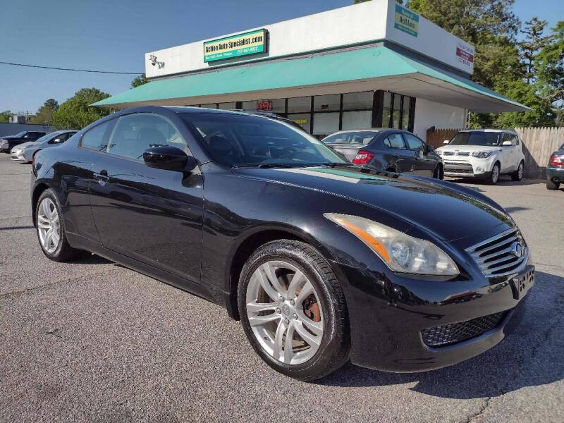 2010 Infiniti G37 Coupe for sale at Action Auto Specialist in Norfolk VA