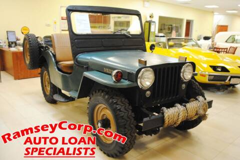 1951 Kaiser Willys CJ-3A for sale at Ramsey Corp. in West Milford NJ