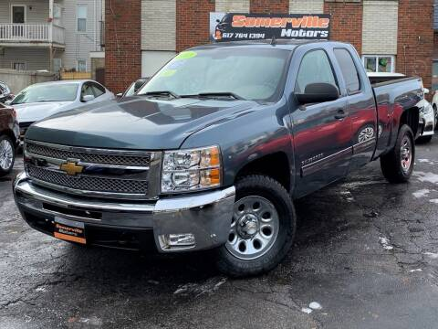 2013 Chevrolet Silverado 1500 for sale at Somerville Motors in Somerville MA