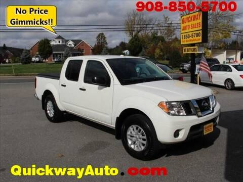 2018 Nissan Frontier for sale at Quickway Auto Sales in Hackettstown NJ