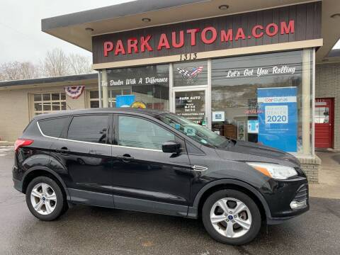 2014 Ford Escape for sale at Park Auto LLC in Palmer MA