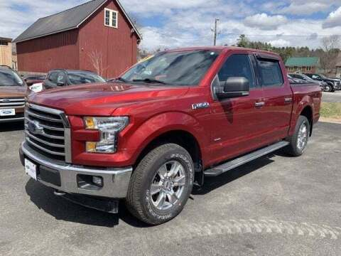2017 Ford F-150 for sale at SCHURMAN MOTOR COMPANY in Lancaster NH