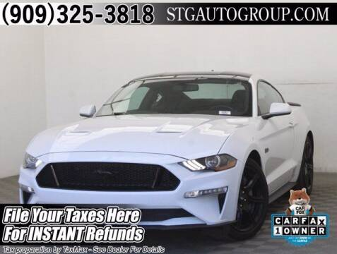 2020 Ford Mustang for sale at STG Auto Group in Montclair CA