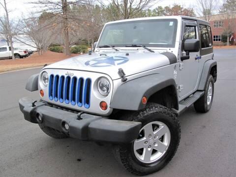 2012 Jeep Wrangler for sale at Top Rider Motorsports in Marietta GA