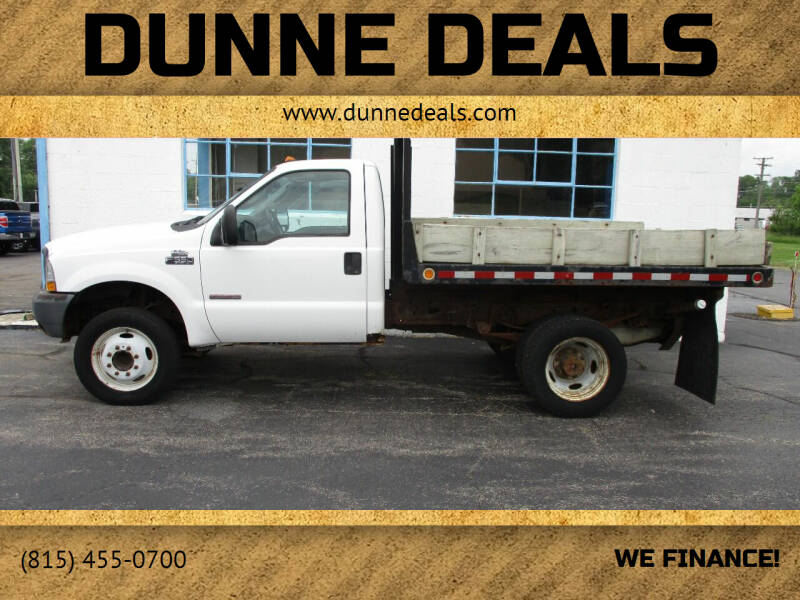 2004 Ford F-550 Super Duty for sale at Dunne Deals in Crystal Lake IL