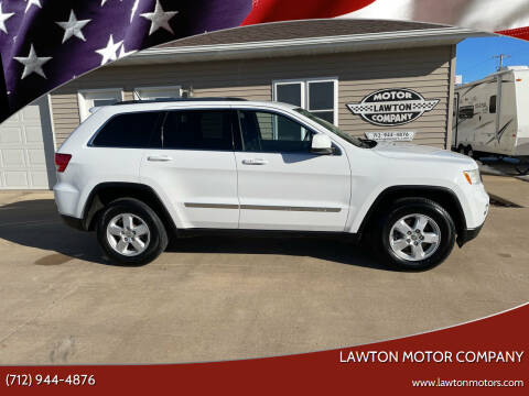 2013 Jeep Grand Cherokee for sale at Lawton Motor Company in Lawton IA