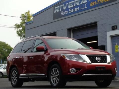 2014 Nissan Pathfinder for sale at Rivera Auto Sales LLC in Saint Paul MN