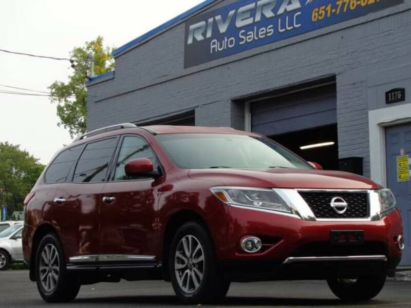 2014 Nissan Pathfinder for sale at Rivera Auto Sales LLC in Saint Paul MN