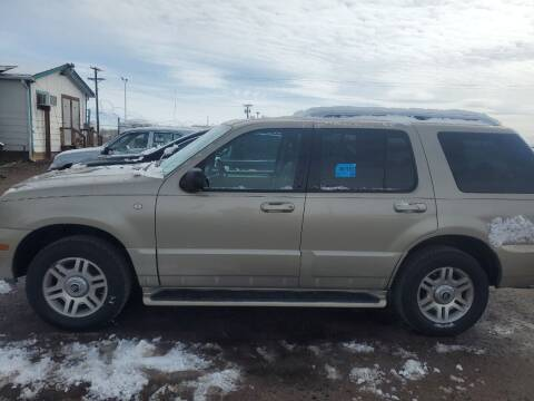 2004 Mercury Mountaineer for sale at PYRAMID MOTORS - Fountain Lot in Fountain CO