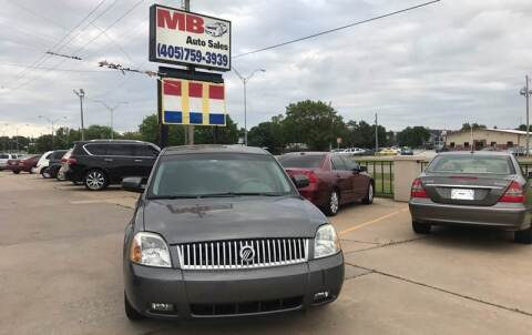 2005 Mercury Montego for sale at MB Auto Sales in Oklahoma City OK