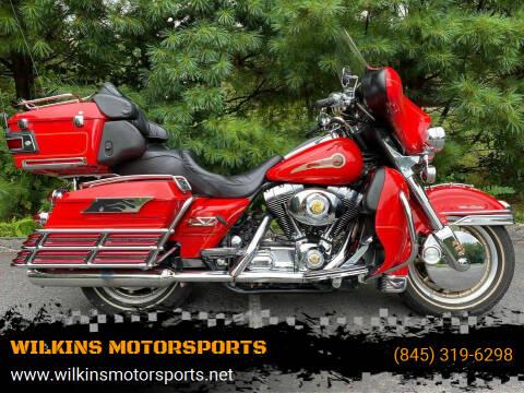 2003 Harley-Davidson ElectraGlide for sale at WILKINS MOTORSPORTS in Brewster NY
