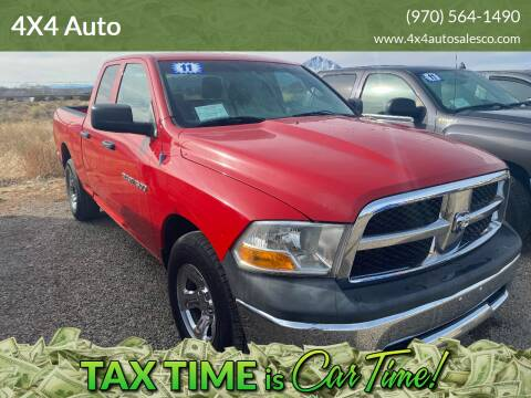 2011 RAM Ram Pickup 1500 for sale at 4X4 Auto in Cortez CO