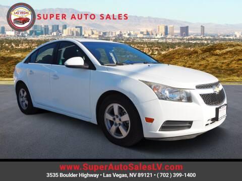 2014 Chevrolet Cruze for sale at Super Auto Sales in Las Vegas NV