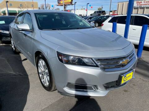 2016 Chevrolet Impala for sale at New Wave Auto Brokers & Sales in Denver CO