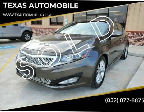 2011 Kia Optima for sale at TEXAS AUTOMOBILE in Houston TX