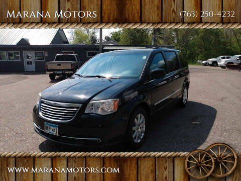 2013 Chrysler Town and Country for sale at Marana Motors in Princeton MN