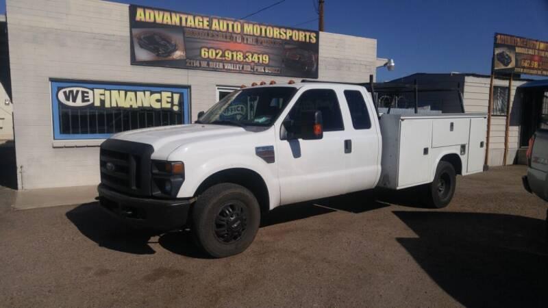 2008 Ford F-350 Super Duty for sale at Advantage Auto Motorsports in Phoenix AZ