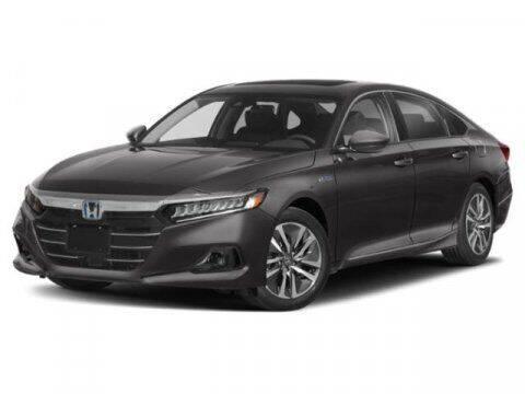 2021 Honda Accord Hybrid for sale at APPLE HONDA in Riverhead NY