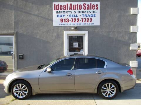 2008 Infiniti G35 for sale at Ideal Auto in Kansas City KS