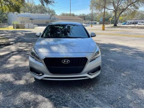 2017 Hyundai Sonata Hybrid for sale at Royal Auto Mart in Tampa FL