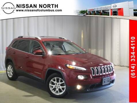 2015 Jeep Cherokee for sale at Auto Center of Columbus in Columbus OH