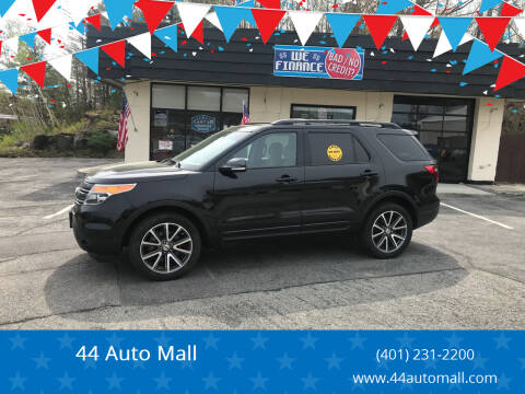 2015 Ford Explorer for sale at 44 Auto Mall in Smithfield RI