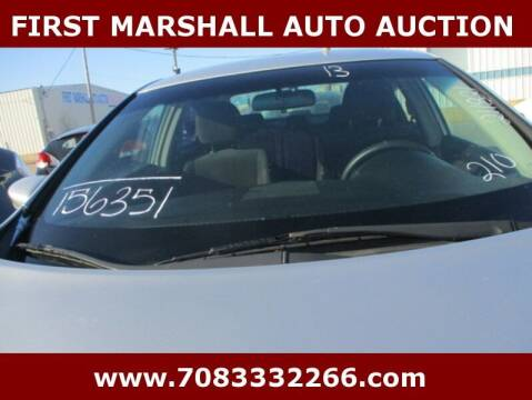 2013 Nissan Altima for sale at First Marshall Auto Auction in Harvey IL